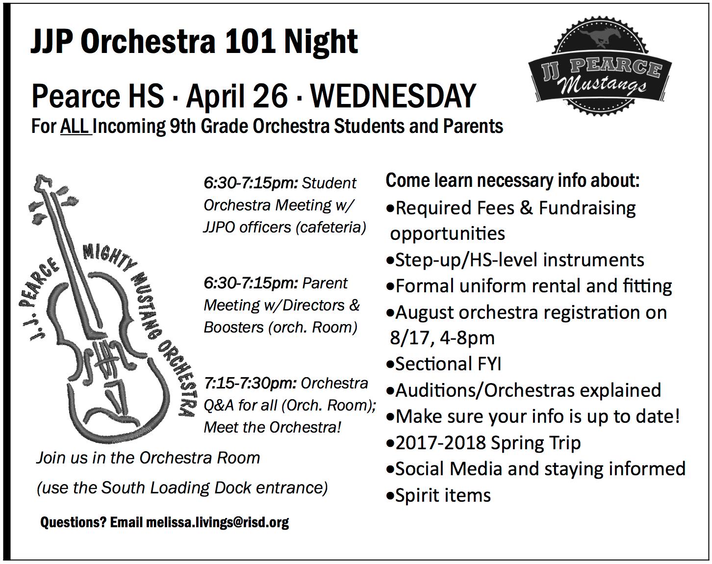 Orchestra 101